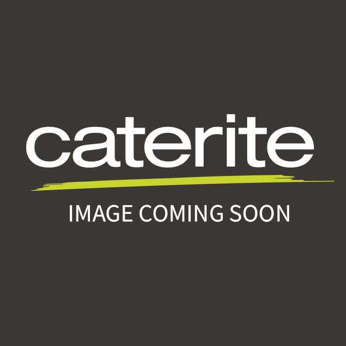 "Genware Porcelain Butter Pat 6.5cm/2.5"""
