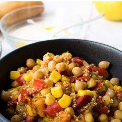 Cuisine Easy Duo of Quinoa & Chickpea Oriental Style