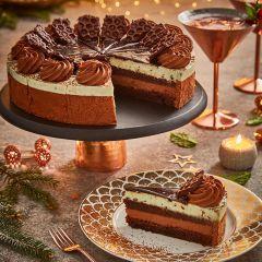 Country Range Premium Mint Chocolate Shard Cake