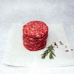 Retail Beef Burger 110g/4oz Frozen
