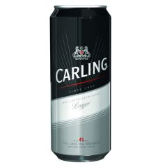 Carling Black Label Cans