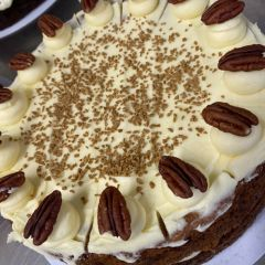 Cakes From The Lakes Coffee Maple and Pecan Cake