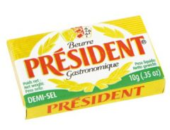 President Butter Portions