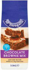 McDougalls Chocolate Fudge Brownie Mix