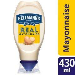 Hellmann's Squeezy Real Mayonnaise
