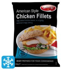 Goodness Me American Chicken Fillet
