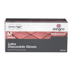 JG Latex Disposable Gloves Powder F