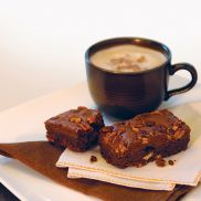 We Love Cake Individually Wrapped Chocolate Pecan Brownie