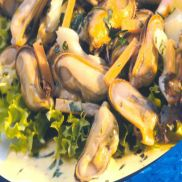 Cooked Mussel Meat