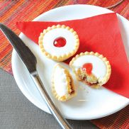 We Love Cake Individually Wrapped Cherry Bakewell