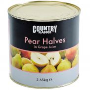 Country Range Pear Halves in Juice