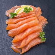 Smoked Salmon Side D Cut