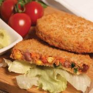 Simply Meat Free Spicy Bean Quarter Pounder Burger