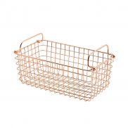 Copper Wire Display Basket