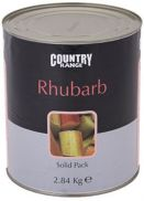 Country Range Solid Pack Rhubarb