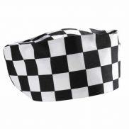Genware Black & White Check Beanie