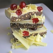 Cakes from the Lakes Belgian White Chocolate & Cherry Tiffin