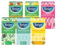 Tetley Fruit & Herb Envelope Teabags (String & Tag)