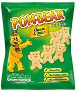 Pom Bear Cheese and Onion Snacks