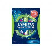 Tampax Compak Pearl Super 8 s