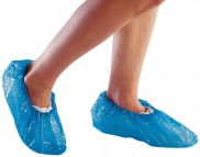 JG Disposable Overshoes Blue 16in