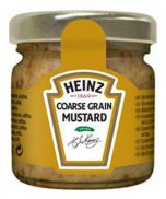 Heinz Coarse Grain Mustard (Glass Jars)