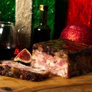 Taste of the Lakes Ham Turkey Cranberry and Chestnut Terrine