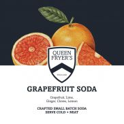 Queen Fryer's Grapefruit Soda