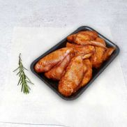 Retail Chicken Wings with Hot & Spicy Marinade (kg)