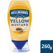 Hellmann's American Style Mustard Squeezy Bottles