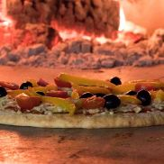 Pan Artisan Sauced Wood Fired Pizza