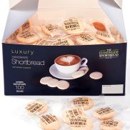 Handmade Shortbread Co. Individually Wrapped Shortbread Biscuits