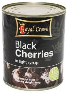 Royal Crown Pitted Black Cherries