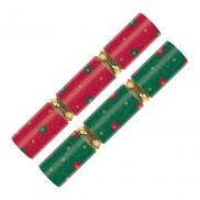 Red & Green Stars Cracker