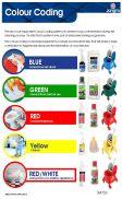JG Colour Coding Wall Chart Hygiene