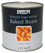 Country Range Reduced Sugar and Salt Beans
