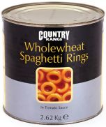 Country Range Wholewheat Spaghetti Hoops