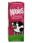 Mooies Low Fat Strawberry Milk