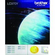 Brother LC-970Y Inkjet Cartridge