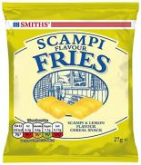 Smiths Scampi Fries Card