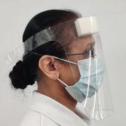 EnviroVizor Face Visor and Foam Pad Assembled