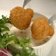 Golden Crumb Garlic Breaded Mushrooms