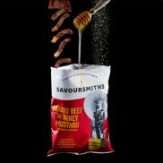 Savoursmiths Wagyu Beef & Honey Mustard Crisps