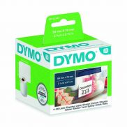 Dymo White Diskette Label 54x70mm