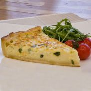 Country Range Cheese and Onion Quiche