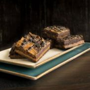 Kara Spiced Salted Caramel Brownie