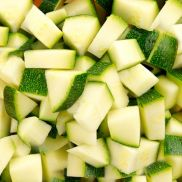 Fresh Prep Courgettes Diced