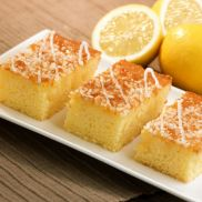 Handmade Cake Co Lemon Drizzle Slice