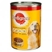 Pedigree Chum Beef In Gravy