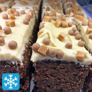 Cakes from the Lakes Salted Caramel Fudge Cake